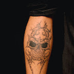skull - Leg Tattoos Designs