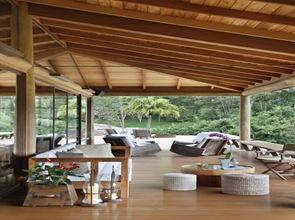 Diseño de mubeles exteriores terraza