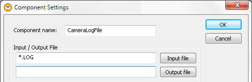 Using a wildcard for the mapping input file