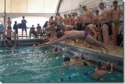Competencia de natación - Estilo Libre Equipo local -