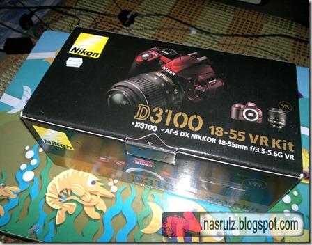 D3100 Unboxing