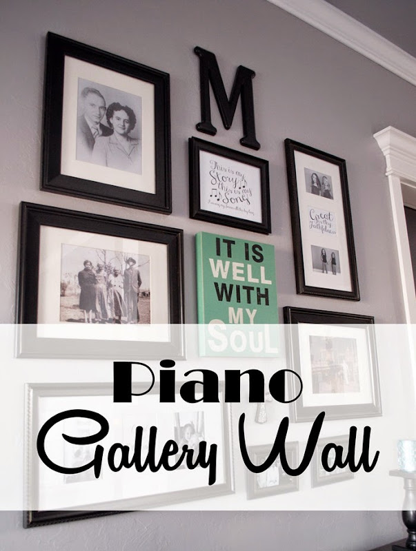 Just Wait til You have Kids | Piano Gallery Wall using Hymns
