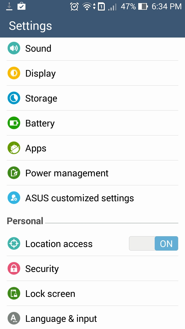 how to stop the asus web storage notification