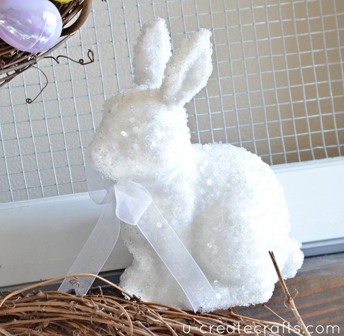 Easter Spring Mantel