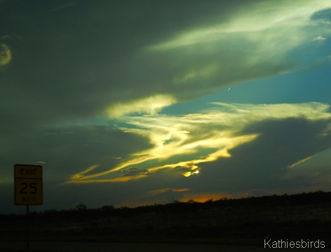 14. Sunset Midland TX-kab