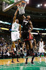 lebron james nba 130127 mia at bos 06 Boston Outlasts Miami in 2nd OT. LeBron Debuts Suede X PE!