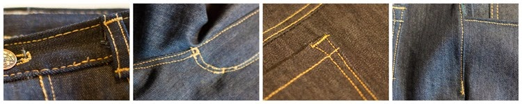 bartacks jeans sew a straight line