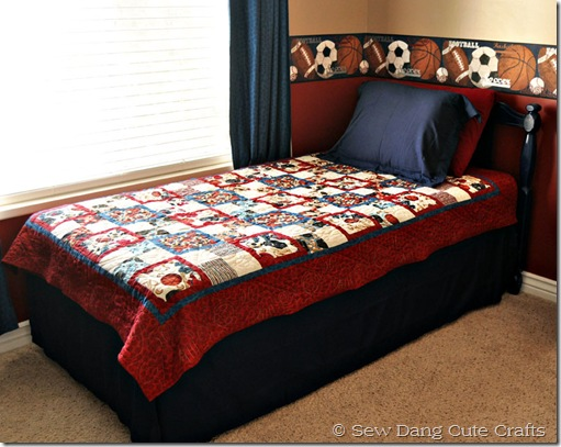 Quilt-on-bed