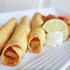 Easy Chicken Taquitos