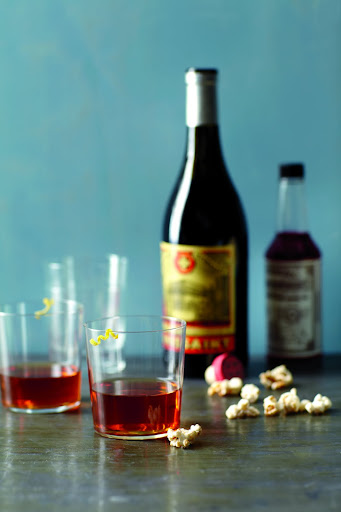 Sazerac, made with rye whiskey or a quality bourbon (Everyday Food)