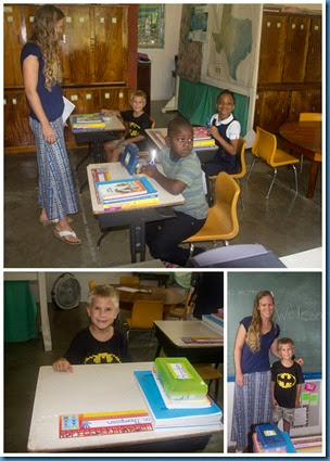 First Day of School September 20141