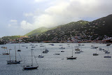 Boats In The Charlotte Amalie Harbor - St. Thomas, USVI
