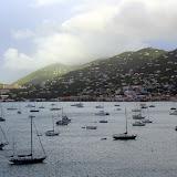 Boats In The Charlotte Amalie Harbor - St. Thomas, USVI