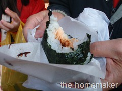 Onigiri with Salmon