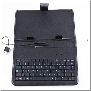 Maxtouch 7 inch tablet PC keyboard and pouch