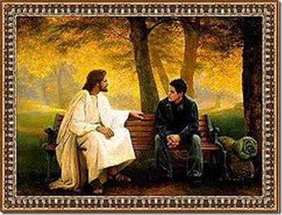 JESUS Y UN AMIGO