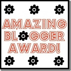Amazing Blogger Award