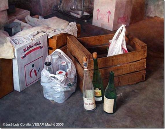 Las botellas-Jose-Luis-Corella-ENKAUSTIKOS