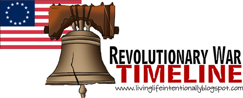 Revolutionary War Timeline for Homeschoolers