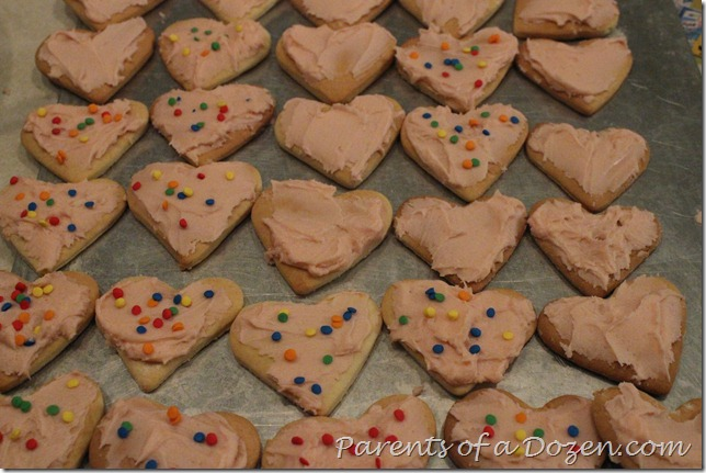 Vzlantine cookies