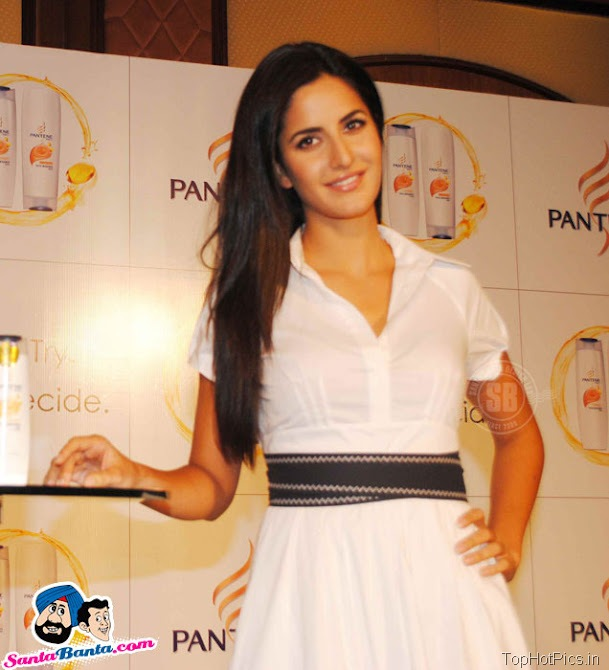 Katrina Kaif Hot Stills in White Stylish Dress 3