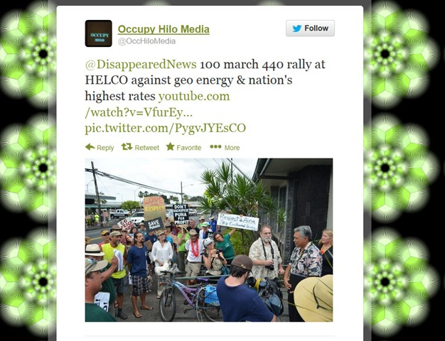 Occupy Hilo Media