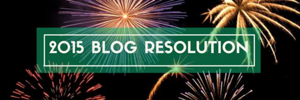 2015 blog resolution