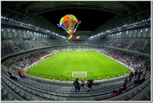 ATLETICO PR V CORINTHIANS - TEST EVENT FIFA 2014