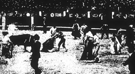 1909-06-13 (p. 17 El Toreo) Escandalo en Madrid