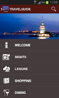 Screenshot of Istanbul Travel Guide