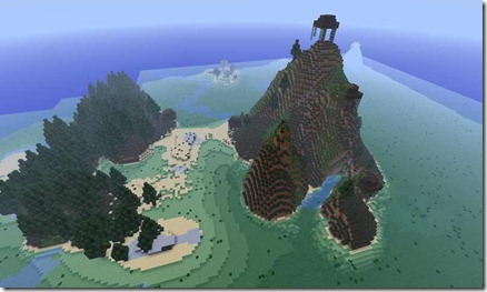 Quad-Mountain-Survival-Map-minecraft