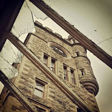 Abandoned Hartwood Hospital Clock Tower