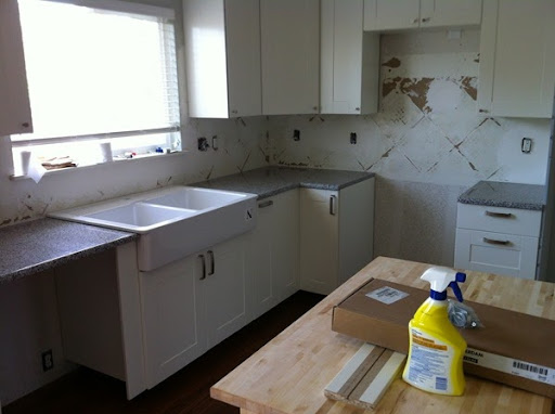 When You Purchase Through Ikea, It Includes The Installationu2026thank  Goodness! They Installed The Countertops And Did A Good Job!