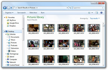 Display Video Thumbnails In Your Windows Explorer