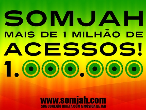1 milhao de acessos somjah