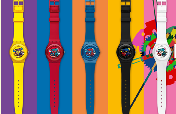 Swatch relojes colores