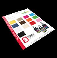 Muestrario de colores de Textiles Naturales