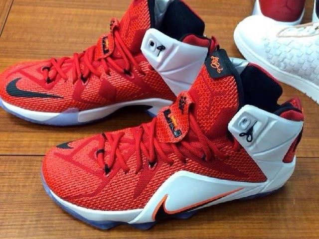 competitive price c8570 116ad Nike LeBron 12 Red amp White 8220Lion Heart8221 Release Date ...
