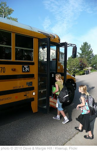 'First day of school' photo (c) 2010, Dave &amp; Margie Hill / Kleerup - license: http://creativecommons.org/licenses/by-sa/2.0/