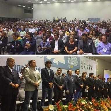 Beto Rosado no encontro de prefeitos e vereadores