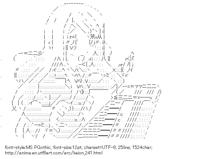 Keion!,Kotobuki Tsumugi,Piano
