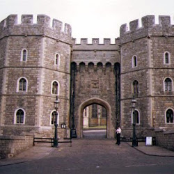 105.- Augusto Pugin. Castillo de Windsor