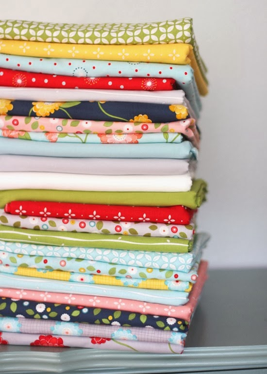Wallflowers yardage