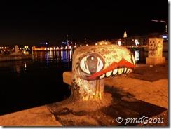 Marseille, E.T. sur le Vieux Port