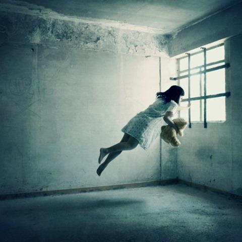 Fotografías de levitación