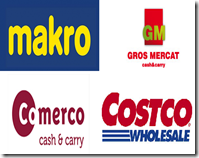 Cash and carry logos