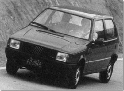 S11 ARQUIVO SAO PAULO 20.08.1990 / JORNAL DE CARRO / AUTOMÓVEL / FIAT DO BRASIL - UNO MILLE. FOTO OSWALDO L. PALERMO/AE