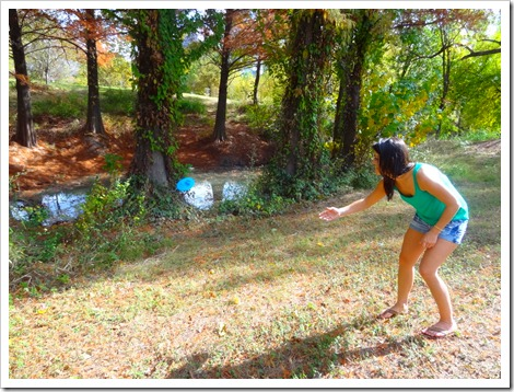 Carrie frisbee golf