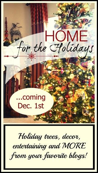 Home For the Holidays Blog Tour!