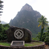 The Pitons:  A UNESCO World Heritage Site - Castries, St. Lucia